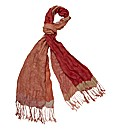 Rabe Open Weave Crinkle Scarf