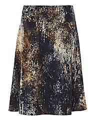 Gelco Multi Printed Knitted Skirt