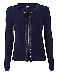 Gelco Wool Mix Soft Stud Jacket