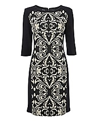 Gerry Weber Panel Print Shift Dress