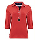 Alice Collins Jersey Polo Top