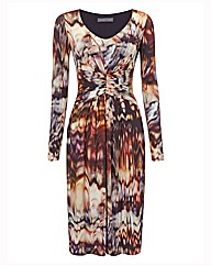 Michaela Louisa Digital Print Dress