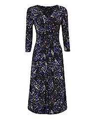 Gina Bacconi Abstract Print Jersey Dress