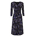 Gina Bacconi Abstract Print Jersey Dress