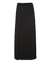 Apanage Pleated Jersey Maxi Skirt