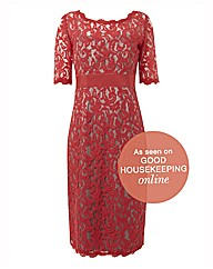 Montique Lace Shift Dress