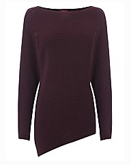 Olsen Ribbed Knitted Boat Neck Jumper