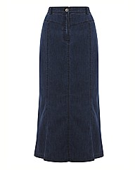 Gray & Osbourn Denim Panelled Skirt