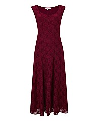 Chesca Long Length Lace Dress