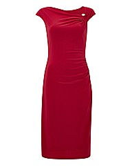 Gina Bacconi Diamante Jersey Dress