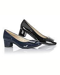 Naturalizer Patent Mid Heel Court Shoes