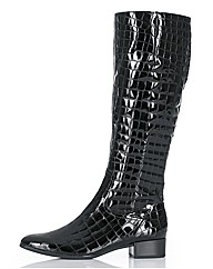 Gabor Knee High Mock Croc Boots