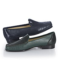 HB Shoes Italian Leather Loafers