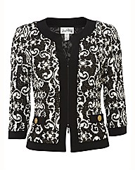 Joseph Ribkoff Patterned Jacket