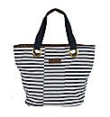 Pia Rossini Nautical Striped Bag