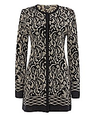 Gerry Weber Long Lace Print Cardigan