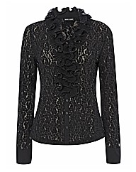 Gerry Weber Ruffle Textured Blouse