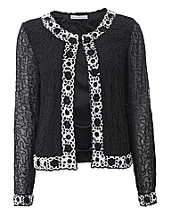 Gina Bacconi Full Beaded Jacket