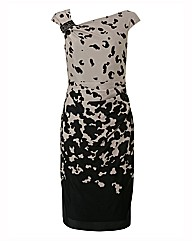 Gina Bacconi Print Dress