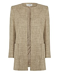 Helene Berman Tweed Longline Jacket