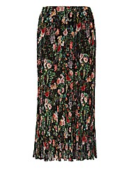 Chesca Floral Georgette Skirt