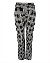 Gerry Weber Printed Sateen Trouser