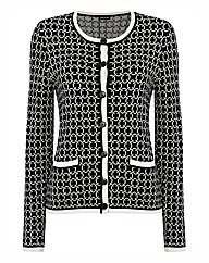 Gerry Weber Geometric Knit Cardigan