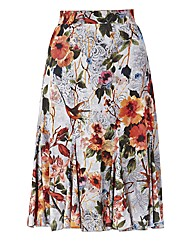 Gerry Weber Floral Jersey Basque Skirt