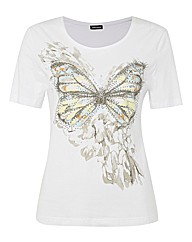 Gerry Weber Butterfly Jersey Top