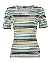 Gerry Weber Tonal Stripe Jersey Top