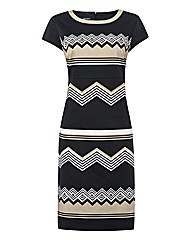 Gerry Weber Zigzag Cotton Dress