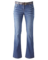 Joe Browns Fit And Flare Jeans 34in