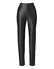 PU Biker Leggings