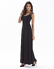 Maxi Dress With Split
