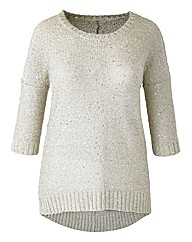 Sequin Knit Jumper
