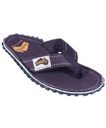 Gumbies Islander Brown Flip Flop
