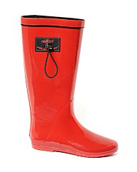 Redfoot Red Gloss Rain Boot