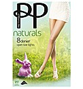 Pretty Polly Open Toe Tights Pk2
