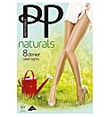 Pretty Polly Oiled Tights Pk2