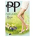 Pretty Polly 8 Denier Hold Ups 2pk