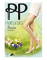 Pretty Polly 8 Denier Hold Ups Pack of 2