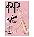 Pretty Polly 10 Denier Gloss Tight Pk2