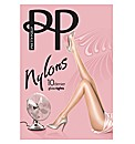 Pretty Polly 10 Denier Gloss Tights Pk2