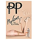 Pretty Polly Nylons 10 Denier Gloss Pk2