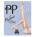 Pretty Polly Gloss Lace Hold Ups Pk2