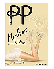 Pretty Polly Gloss Slimmer Tights Pk2