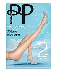 Pretty Polly Simply Sheers Pk4