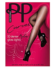 Pretty Polly Curves Nylons Tights Pk2