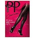 Pretty Polly Curves Plush Opaque Tights