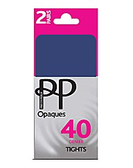 Pretty Polly Opaque Tights Pk4